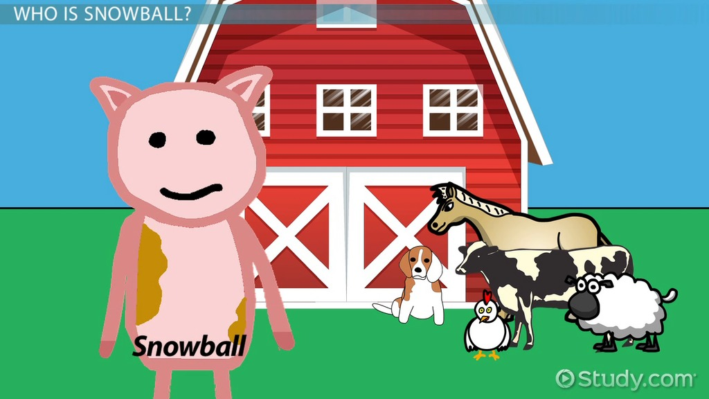 animal farm napolean vs snowball Everything you ever wanted to know about napoleon (a pig) in animal farm, written by masters of this stuff just for you with snowball gone, napoleon is the big.