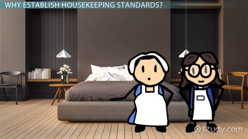 hotel housekeeping standards amp checklist video amp lesson