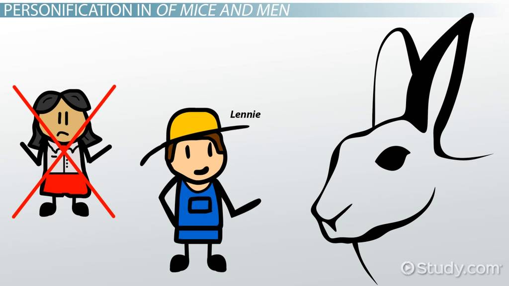 Personification In Of Mice And Men Video Lesson Transcript