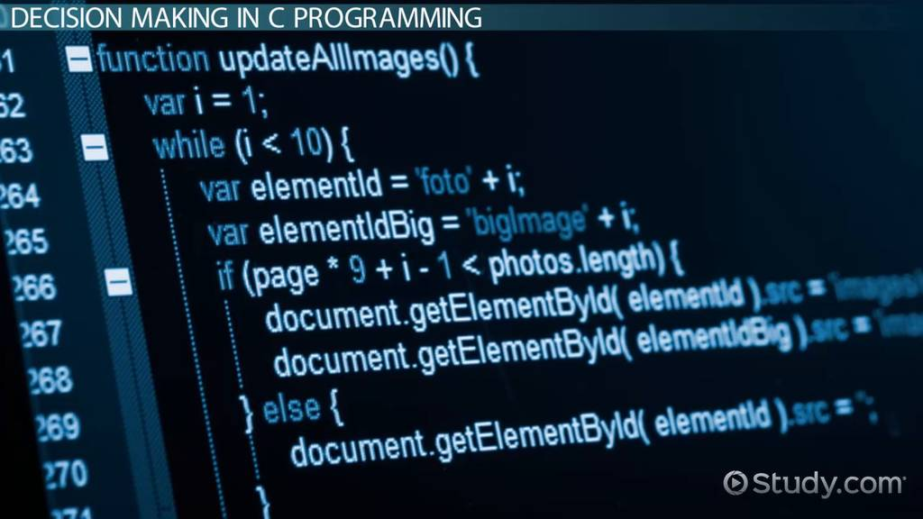 If Else If Else Statements In C Programming Video Lesson