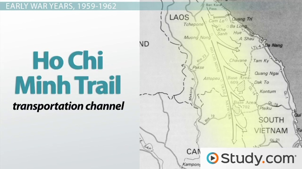 North Vietnam And South Vietnam Map.North Vietnam Mobilizes For War The Ho Chi Minh Trail The Viet