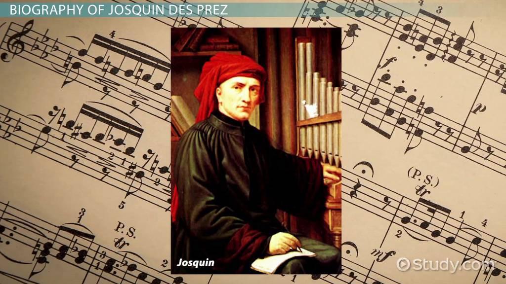 josquin des prez  biography  u0026 music