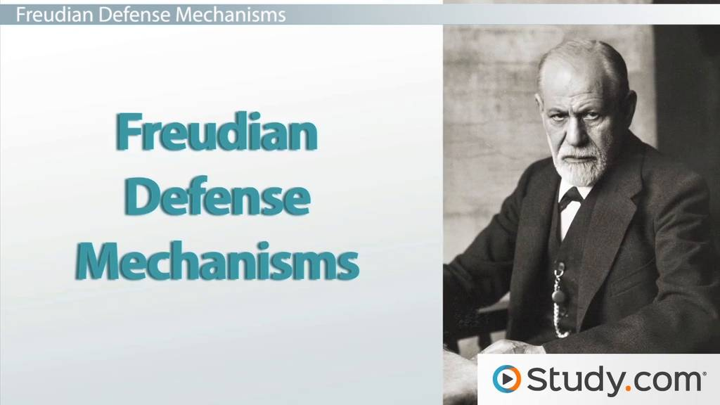 Freudian Defense Mechanisms Definition Levels Examples Video