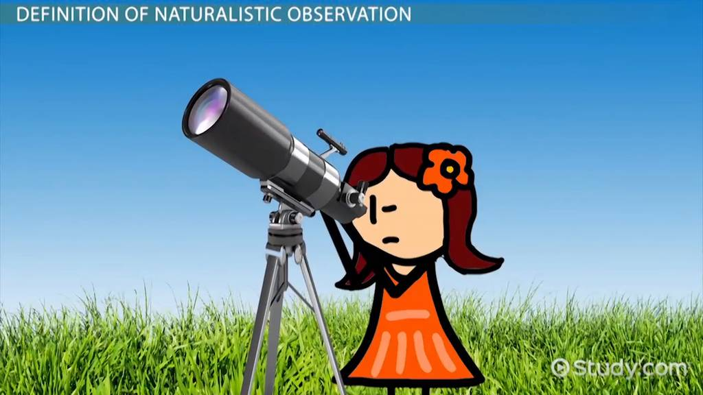 psychology naturalistic observation examples