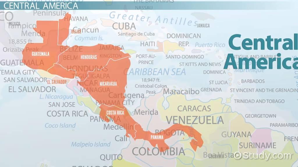 Picture of: Culture History Politics Of Central America Video Lesson Transcript Study Com