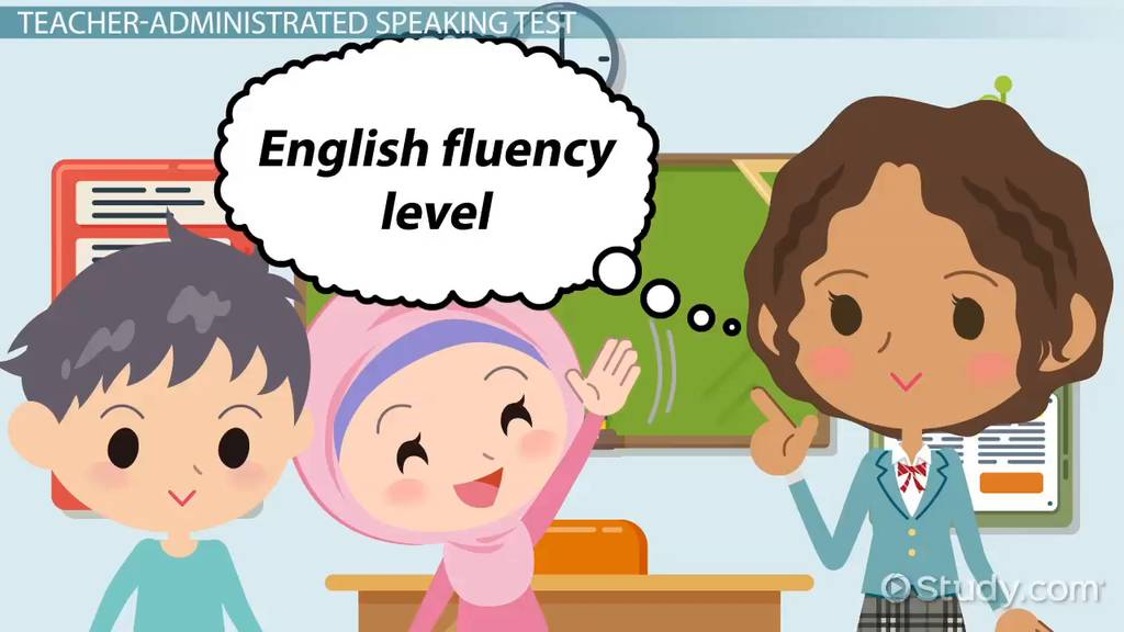 Speaking Test Sample Questions for ESL Students - Video
