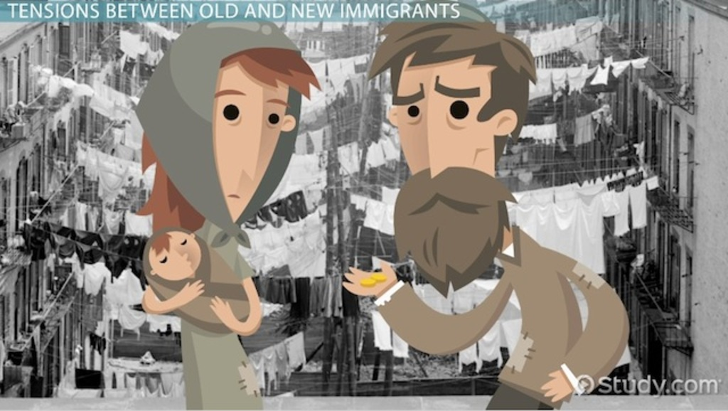 Old and New Immigrants in the US: Definition & Overview - Video ...