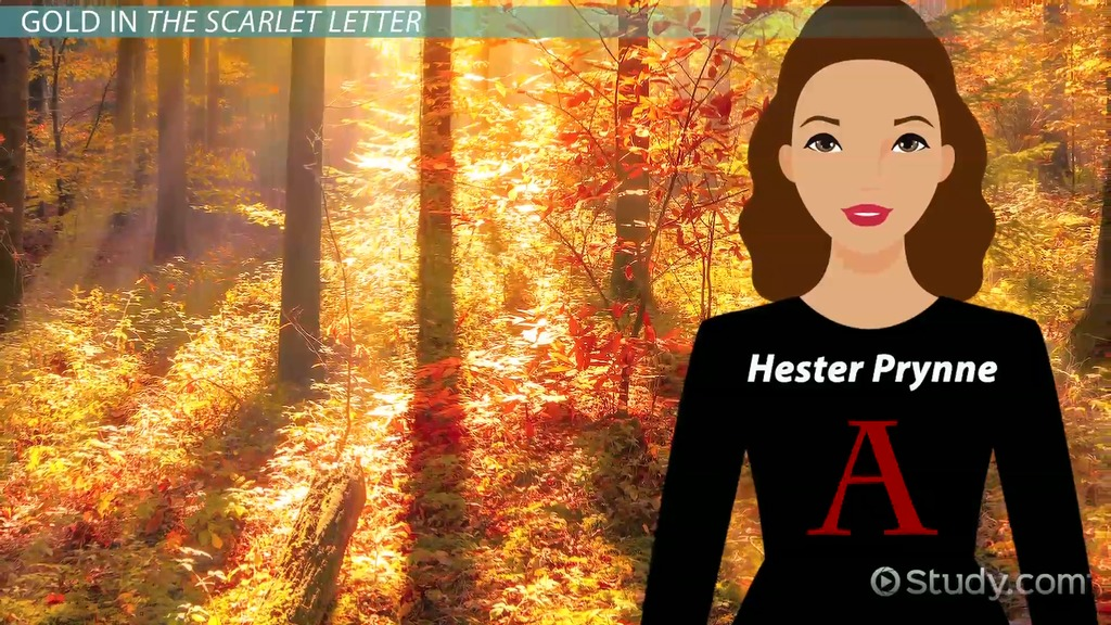 Color Symbolism In The Scarlet Letter Video Lesson Transcript