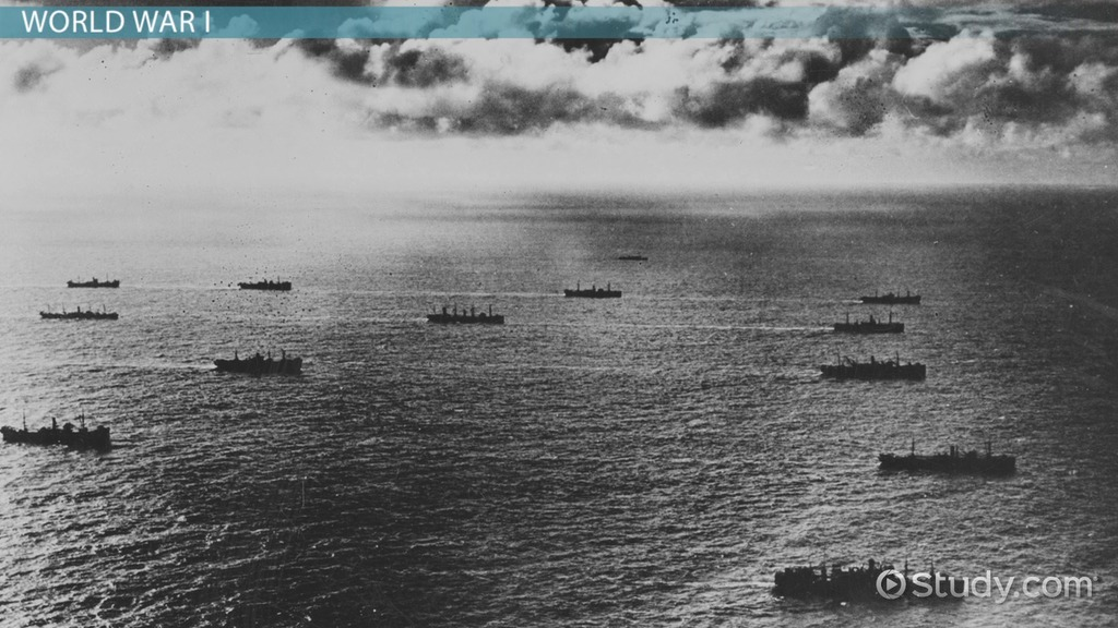Convoy System: Definition, WW1 & WW2 - Video & Lesson