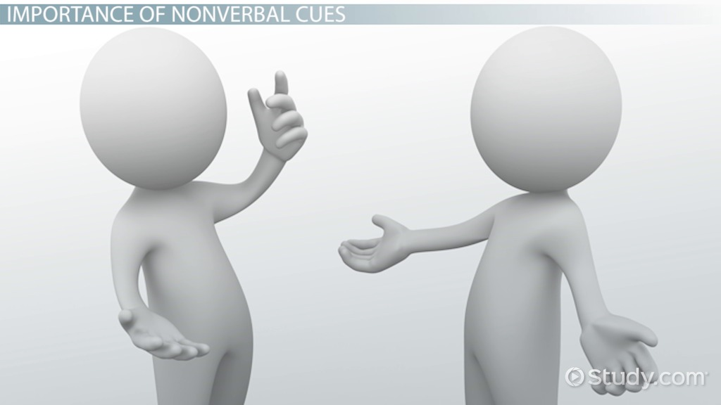 Nonverbal Cues in Communication: Examples & Overview - Video ...