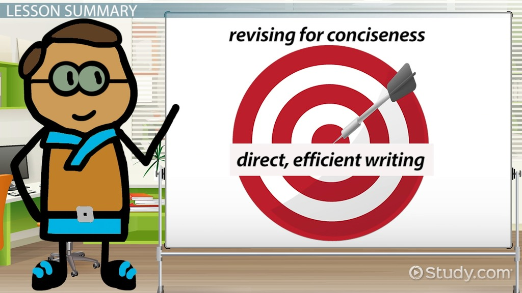 conciseness in writing definition amp meaning video