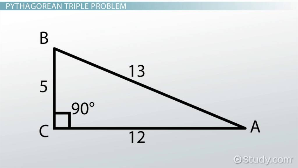 Calculating Angles for a 5-12-13 Triangle - Video & Lesson ...
