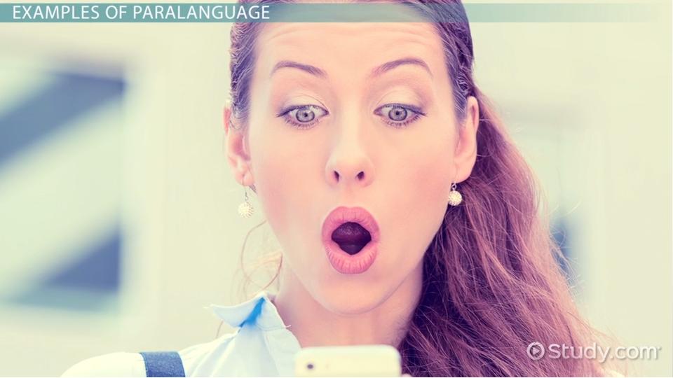 Language of communication.
