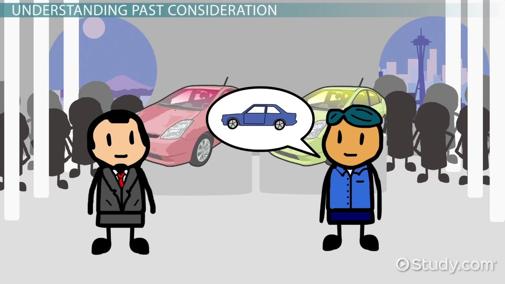 Past Consideration In Contract Law Definition Cases Video