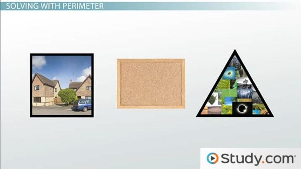 perimeter formula for rectangle within rectangle perimeter of triangles and rectangles video lesson transcript