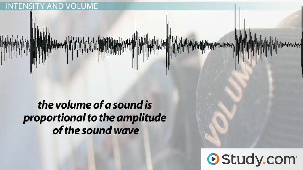 Pitch and Volume in Sound Waves - Video & Lesson Transcript