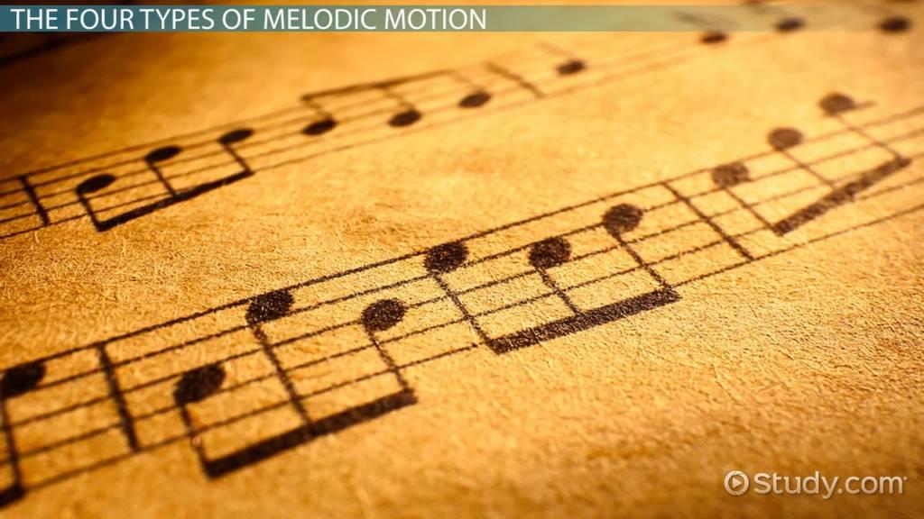 melodic contour  definition  u0026 examples