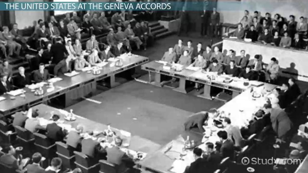 Us Reaction To The Geneva Accords Summary Analysis Video