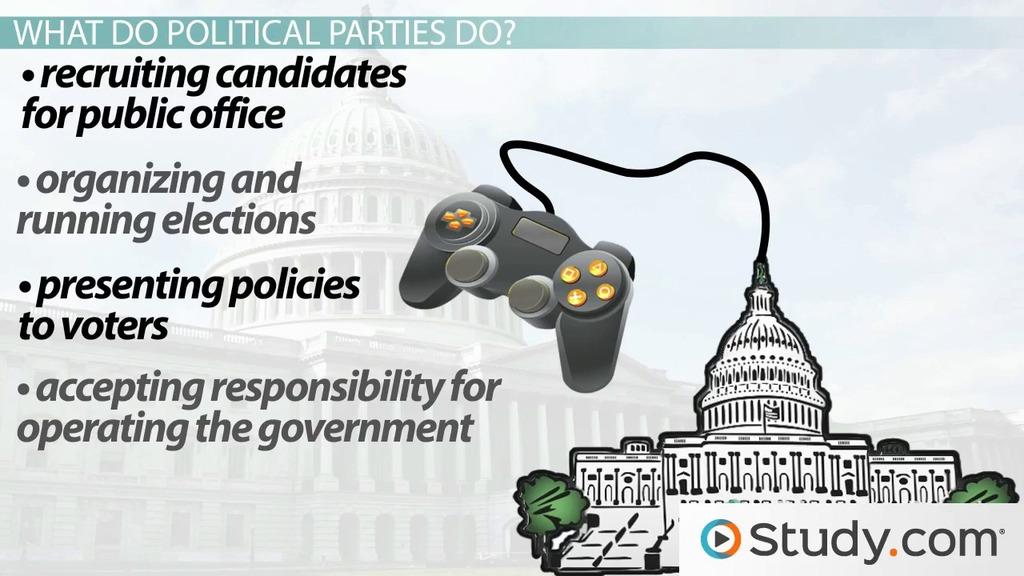 Political Party Definition Function Organization Mobilization