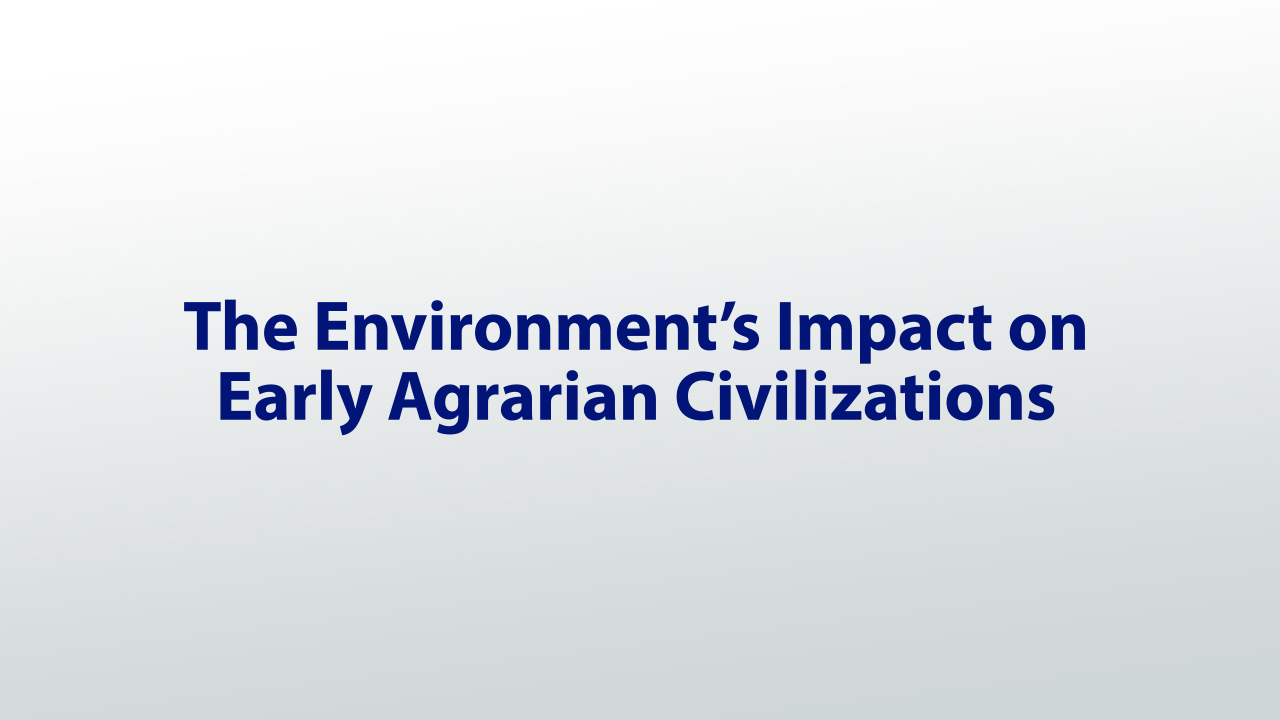 the effects of trade and agriculture advancements in ancient civilizations essay I agricultural advances in ancient civilizations i student edition 3 i agricultural advances in ancient civilizations i student edition 5 mesopotamia in what.