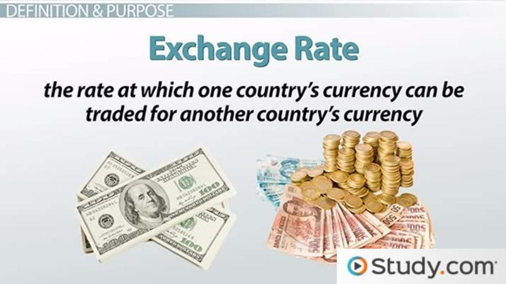 Exchange Rate Determination And Conversion Across Countries Video Lesson Transcript Study