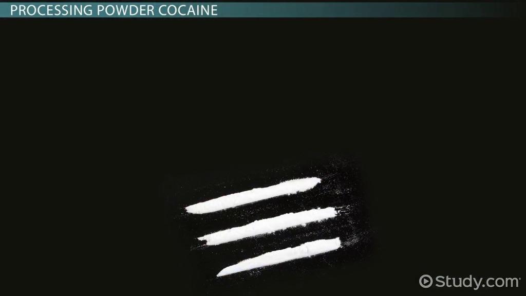 Processing Coca to Cocaine & Crack - Video & Lesson