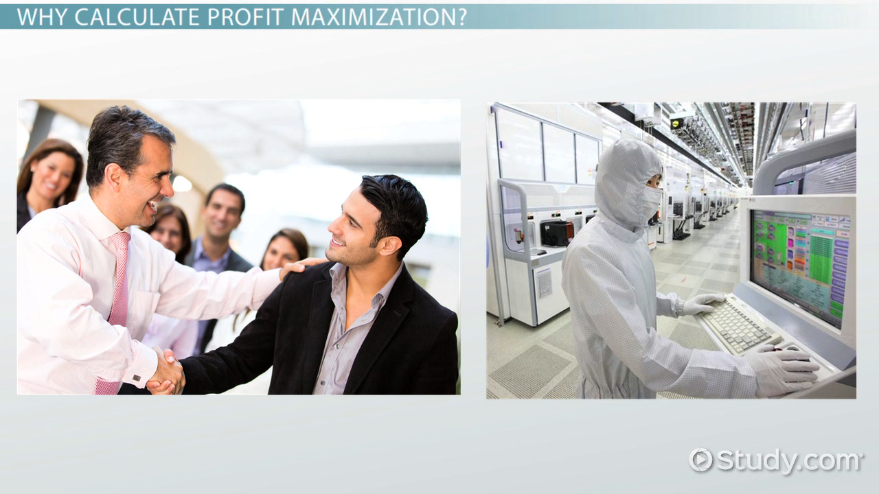 importance of profit maximization