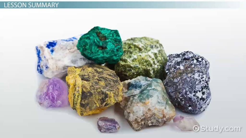 common minerals  u0026 their uses