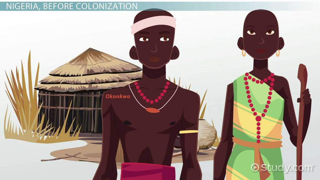 pre colonial igbo culture in things fall In things fall apart, the theme is the colonization of africa by the british and the negative and violent changes this brought about in the lives of the african tribes along with colonization was the arrival of the missionaries whose main aim was to spread the message of christianity and to convert people to.