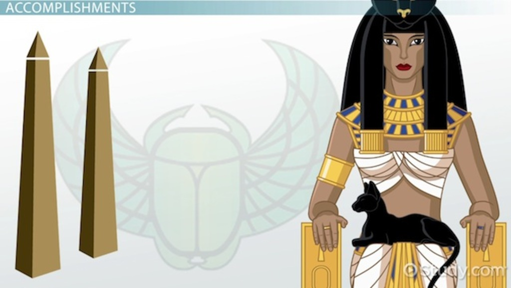 essay on queen hatshepsut Under queen hatshepsut (1479–58) palestine revolted against egyptian domination, but the rebellion was put down firmly by her successor, thutmose iii,.