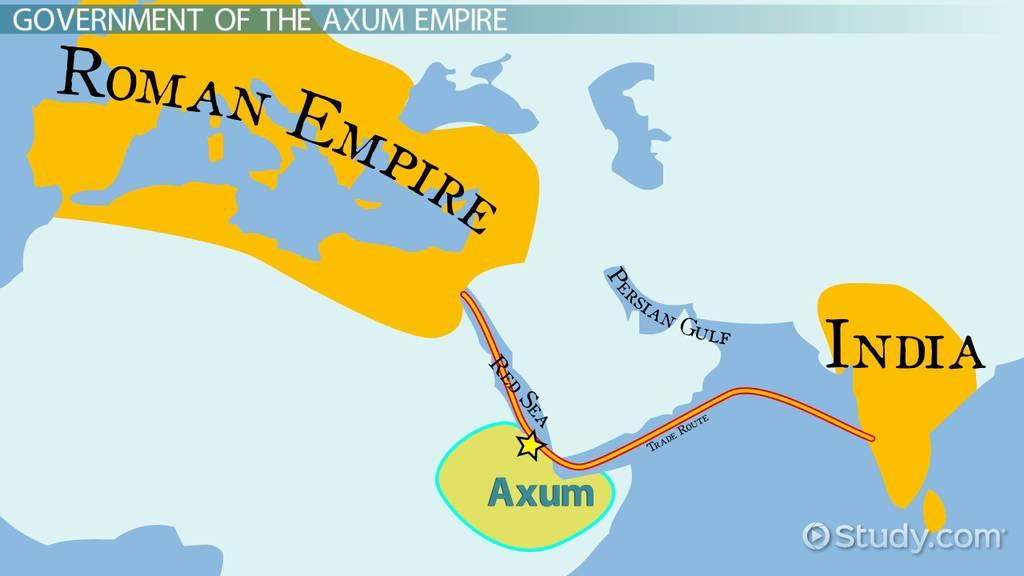 Axum Empire: Religion, Culture & Government   Video & Lesson