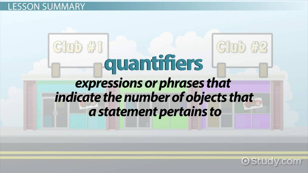 Quantifiers In Mathematical Logic Types Notation Examples