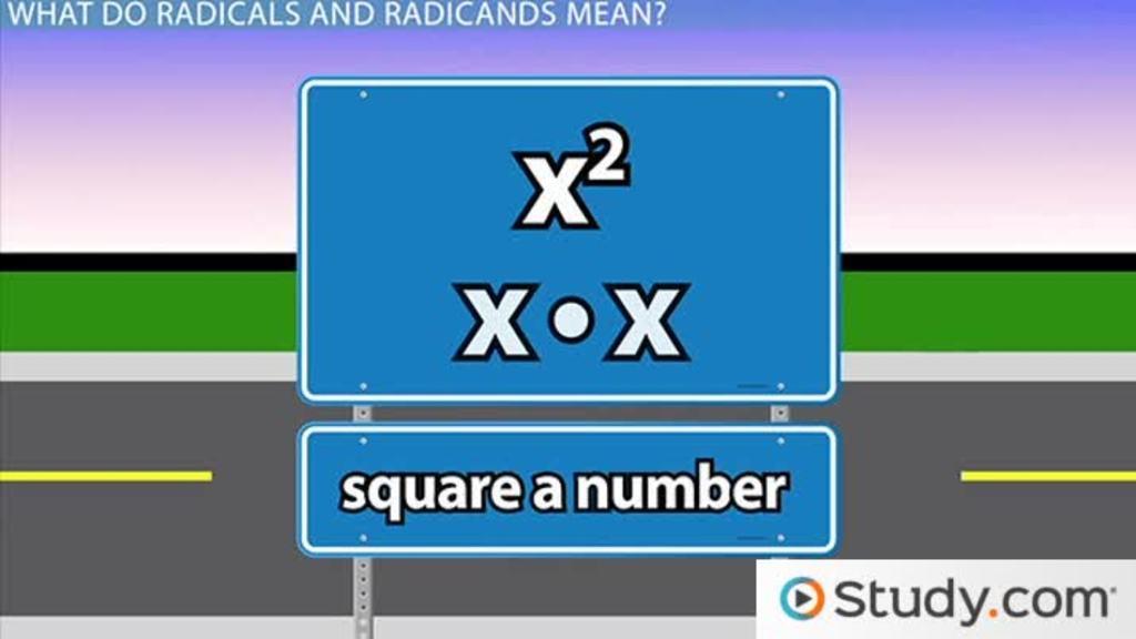Glencoe algebra 1 chapter 11 radical expressions and triangles 1 radicands and radical expressions fandeluxe Choice Image