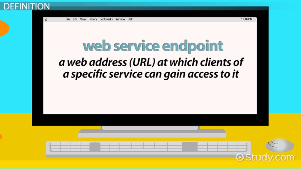 What is Web Service Endpoint? - Definition & Concept - Video