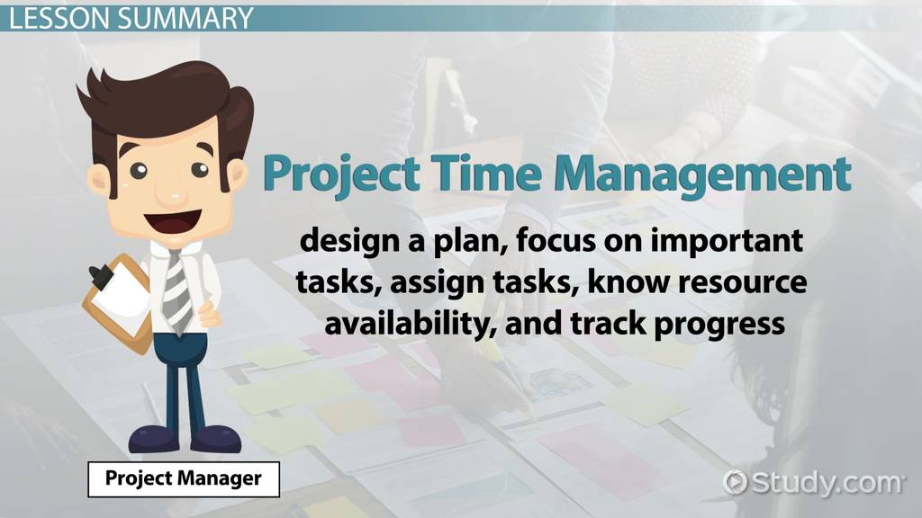 Project Time Management Definition Process Techniques Video