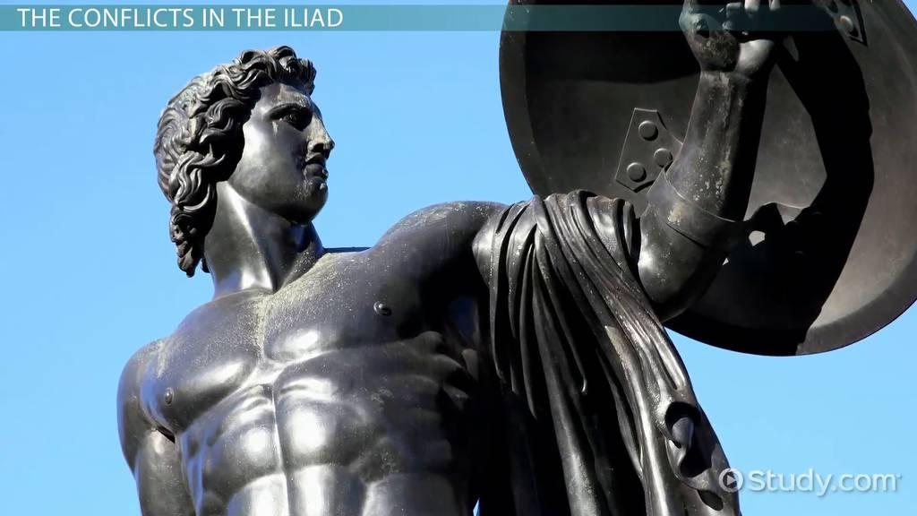 Conflict In The Iliad Video Lesson Transcript Study