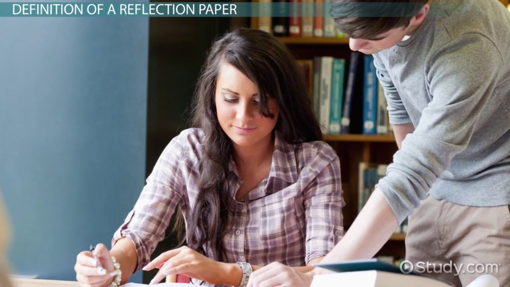 How to write a college reflection paper