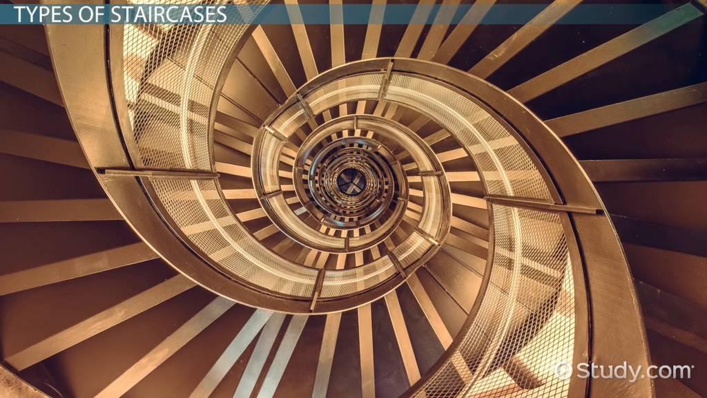 Staircases Types Design Construction Video Lesson Transcript Study Com