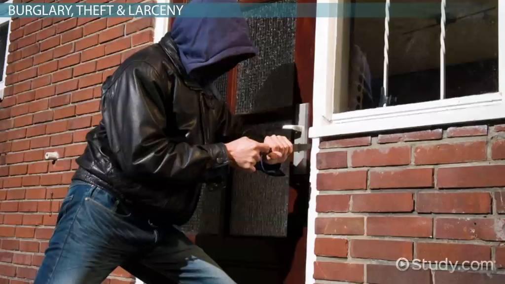 Online Business Schools >> Property Crime: Definition, Types & Statistics - Video ...