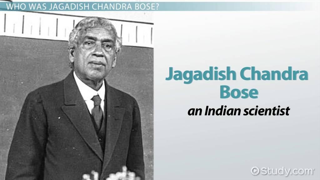 Jagadish Chandra Bose: Biography, Inventions & Contributions - Video