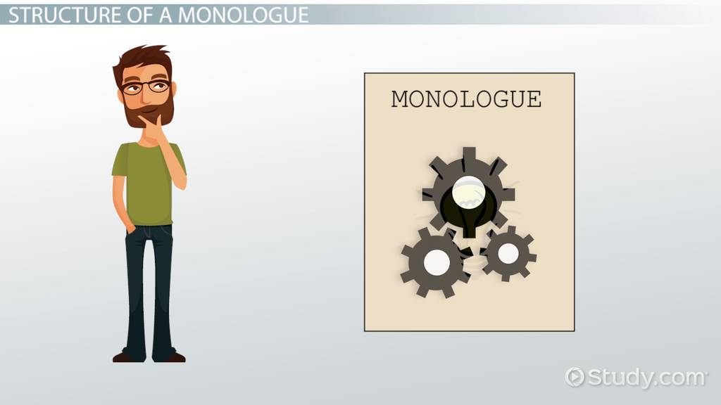 How to Write a Monologue: Format, Ideas & Tips - Video & Lesson