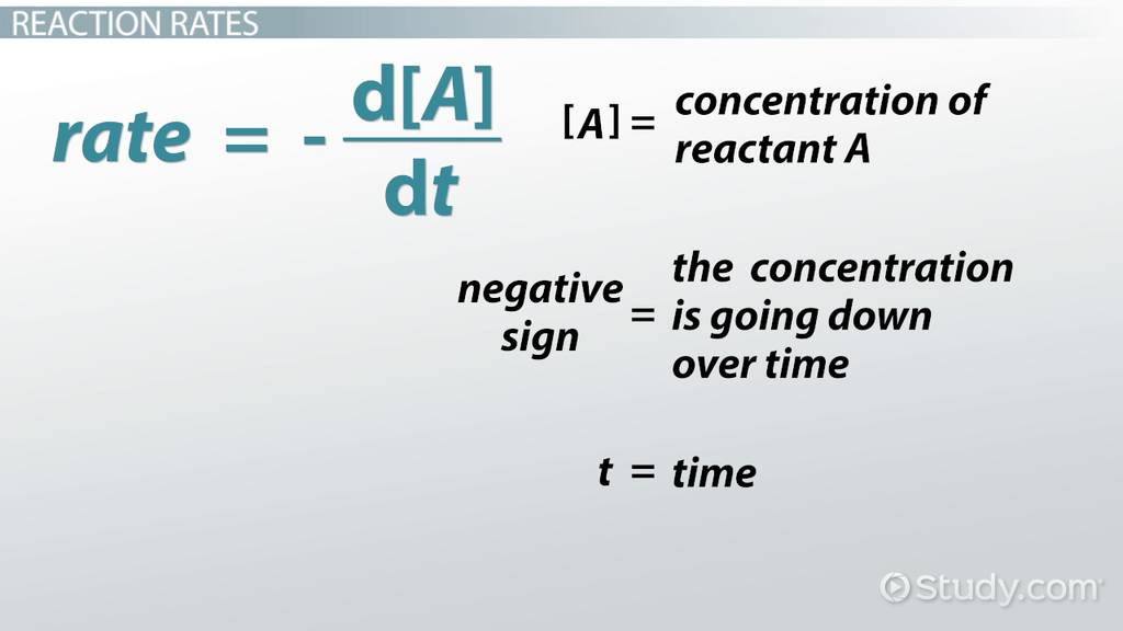 First-Order Reactions: Definition & Mathematical Representation
