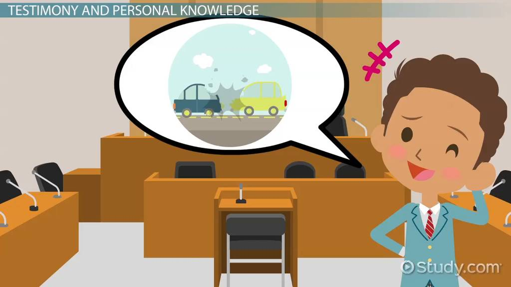 Testimonial Evidence Law Definition Examples Video Lesson