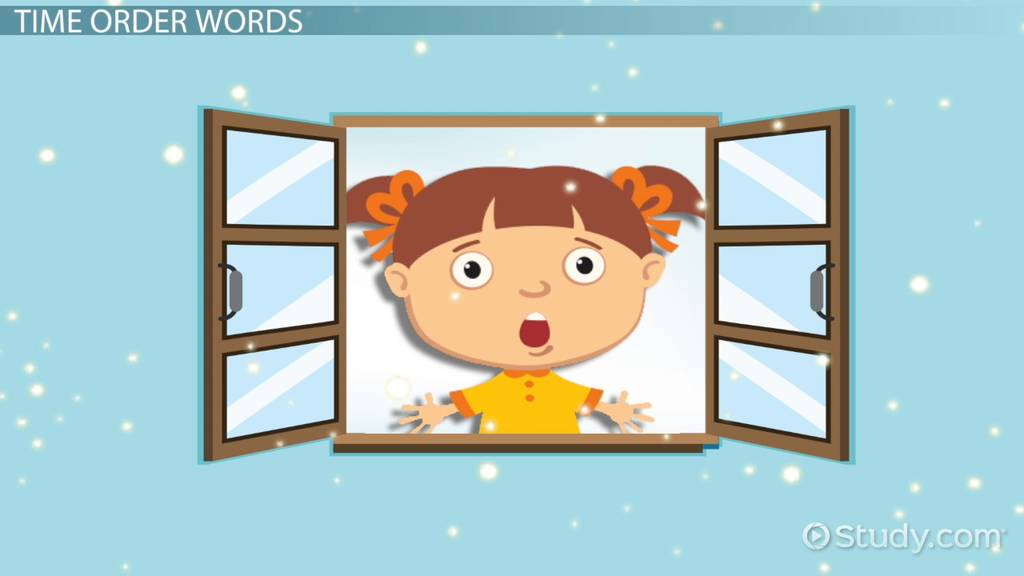 Sequence Of Events Lesson For Kids Video Lesson Transcript Study Com