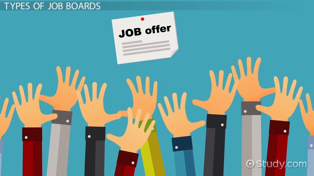 what are job boards video lesson transcript studycom
