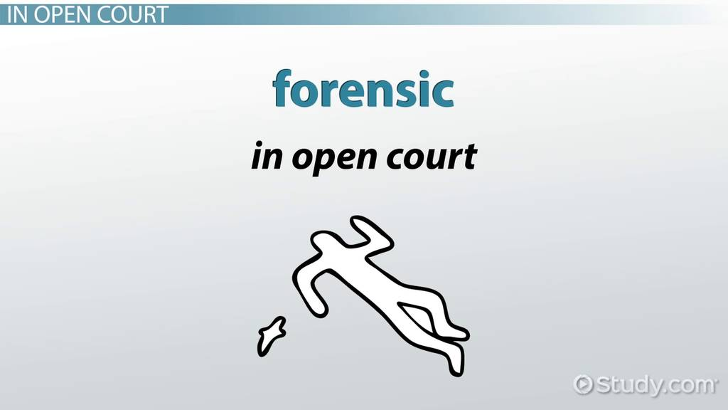 The History Of Forensic Science Timeline Facts Video Lesson Transcript Study Com