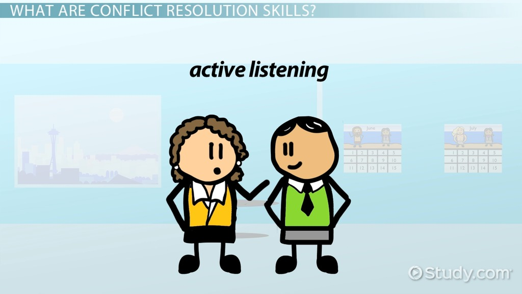 What Is Conflict Resolution In The Workplace?   Skills, Techniques U0026  Methods   Video U0026 Lesson Transcript | Study.com