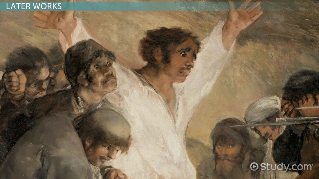 Francisco Goya Biography Paintings Facts Video Lesson - Francisco goya paintings