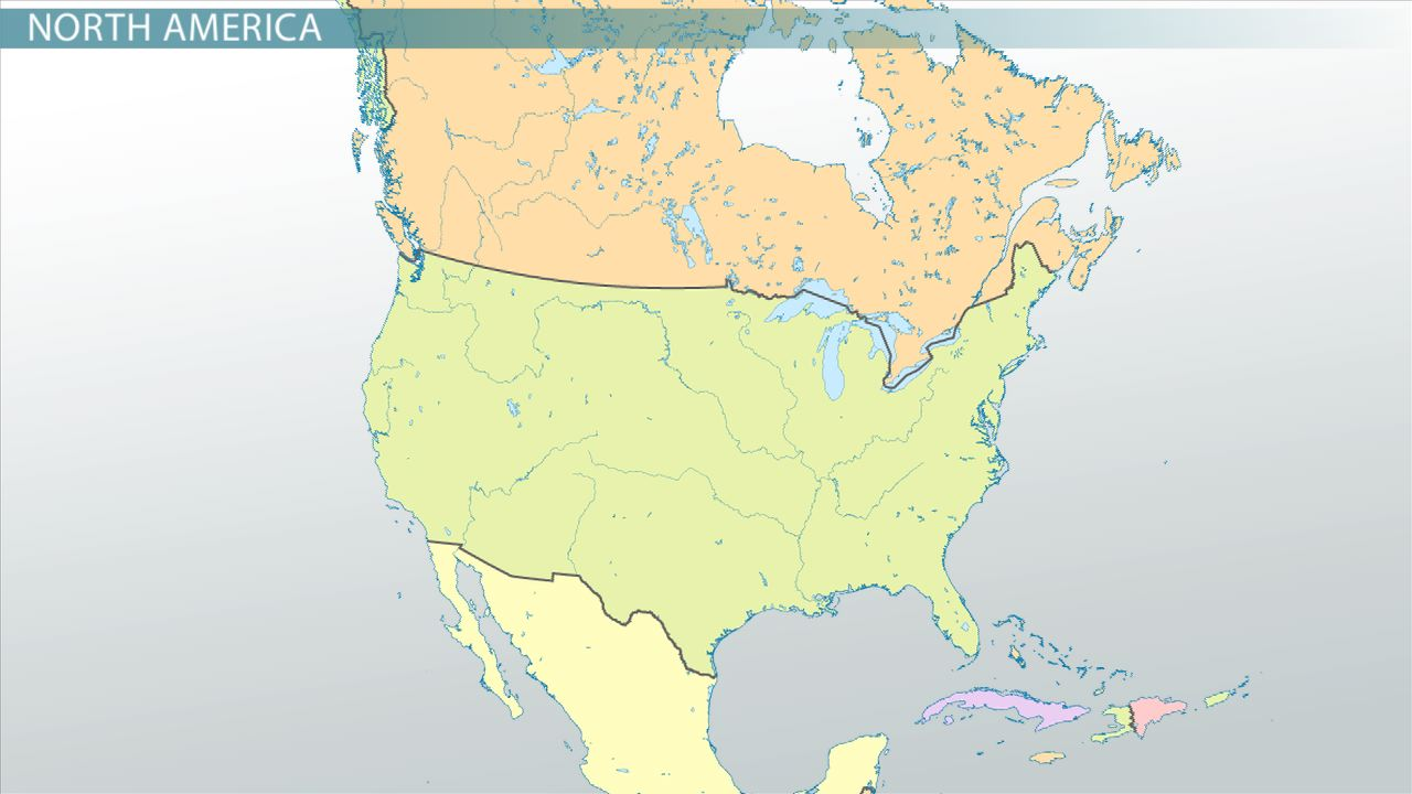 Image of: Mapping The Physical Human Characteristics In North America S Regions Video Lesson Transcript Study Com