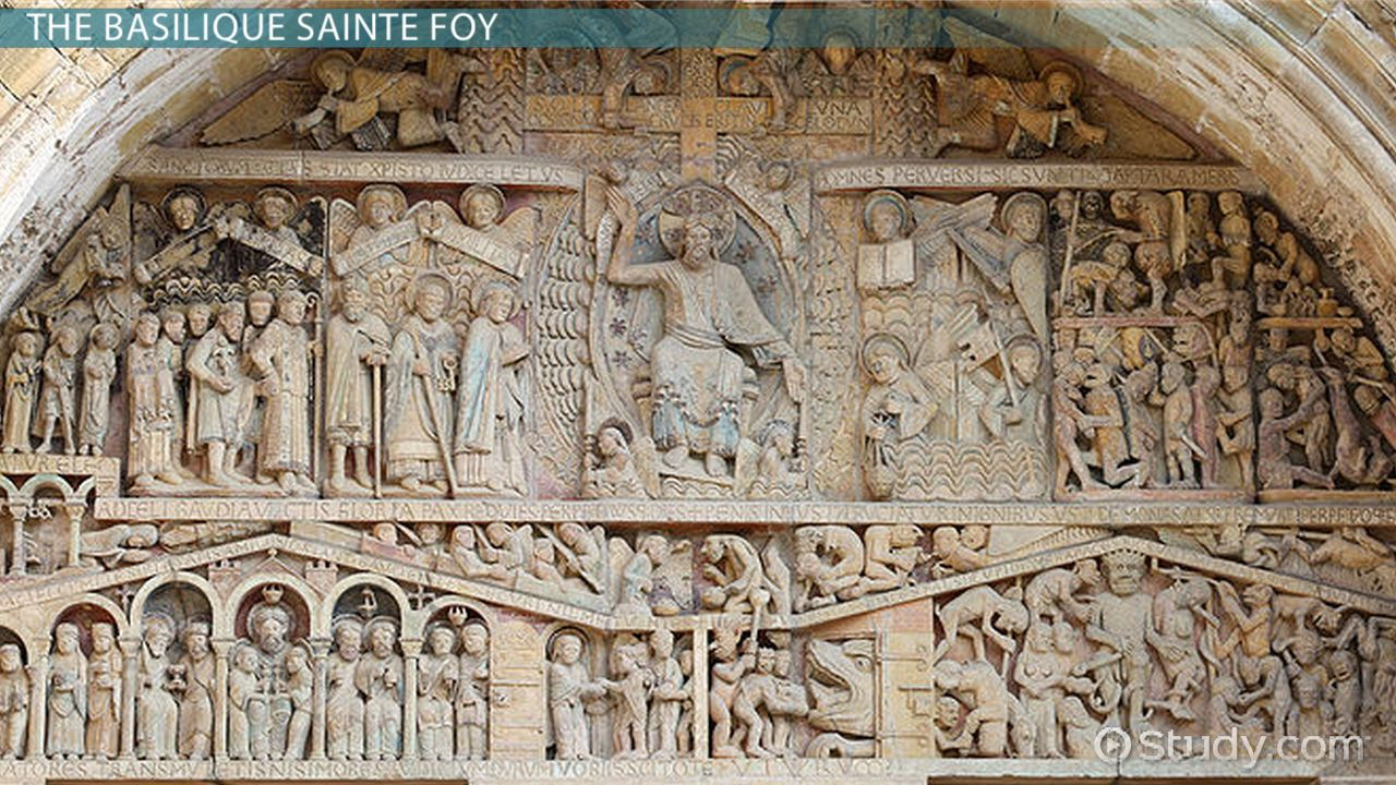 Comparing Romanesque Tympanums Iconography Amp Function